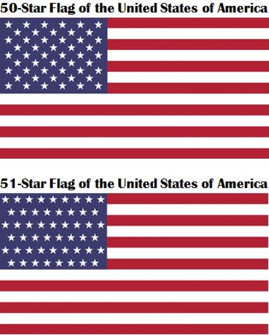 Let's Add Another Star to the U S  Flag!