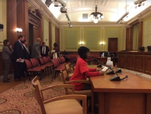 Testifying before the DC Council