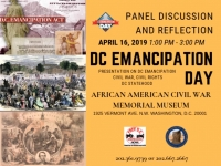 DC Emancipation Day 2019 Panel Discussion & Reflection