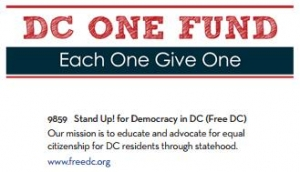 DC One Fund - Each One Give One