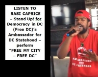 VIDEO: Free My City - Free DC
