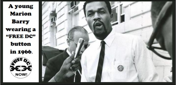 Marion Barry at Free DC rally, August 26, 1966.