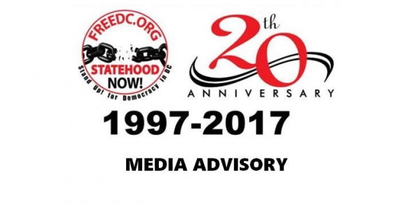 MEDIA ADVISORY: Stand Up! / Free DC's 20th Anniversary Fundraiser