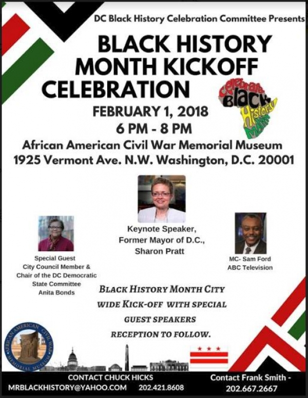 Black History Month Kickoff Celebration