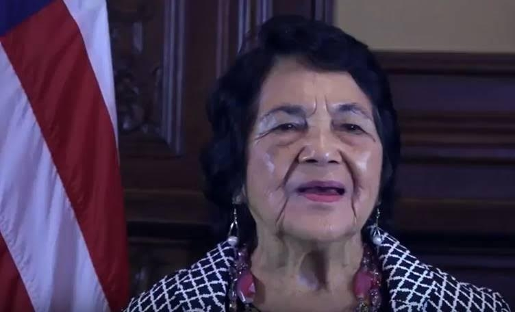 ICivil Rights Activist Dolores Huerta's PSA for DC Statehood