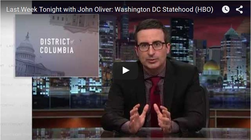 IJohn Oliver: Give Washington D.C. Statehood