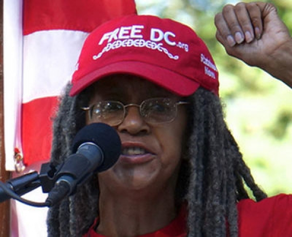 Anise Jenkins is the executive director of Stand Up! For Democracy in DC, a pro-statehood organization.