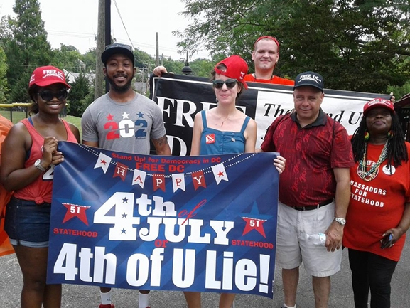 IWe Stand Up to Celebrate the Fourth